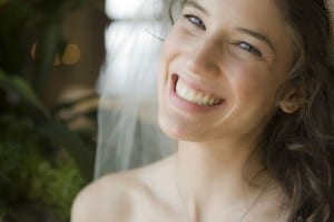Asheville Bride Teeth Whitening example