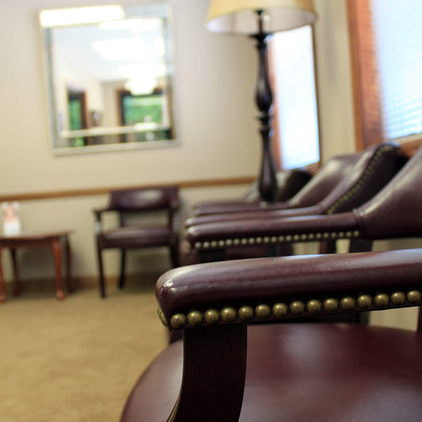 Saunders Waiting Room - Asheville Dental Clinic